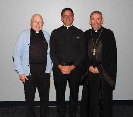 Fr. Baugh, Fr. Kalista, & Fr. Lee